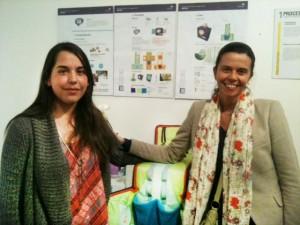 Francisca Villota; Rosario Díaz, Directora Pregrado mención Diseño Gráfico.
