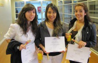 Ceremonia de elección de mención en Concepción