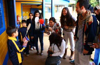 Workshop con niños de Coliumo, Concepción