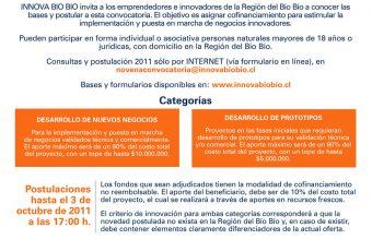 Charla 9° convocatoria Innova Biobio en Concepción