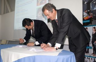 Firma Convenio con Fundación Integra