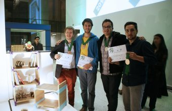 Con innovador proyecto Estela Studio obtiene el tercer lugar en Concurso Masisa 2014