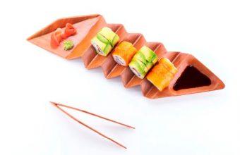 Contenedor para Sushi
