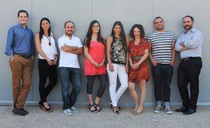 Equipo TID: Hernán Díaz, Paulina Contreras, Alejandra Amenábar, Úrsula Bravo, Francisco del Despósito y Sergio Majluf