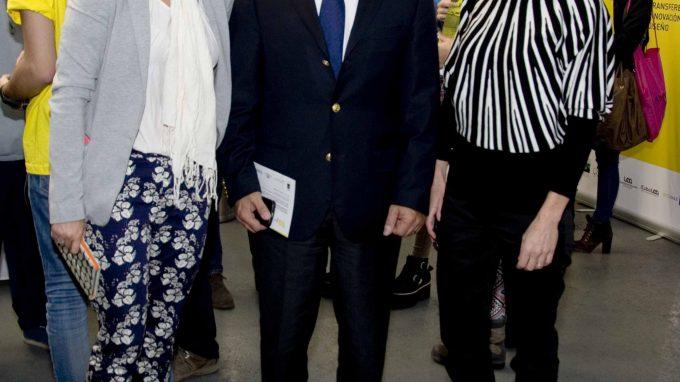 Javiera Aldunate, Sergio Hernández y Úrsula Bravo