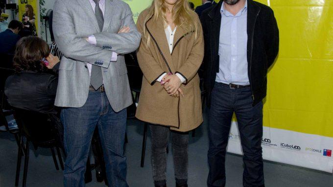 Alejandro Pantoja, Francisco Fuentes e Ignacia Feuereisen