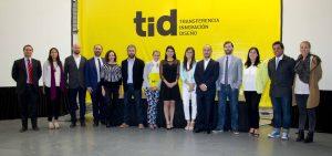 Ceremonia TID, con Alejandra Amenábar, Paulina Contreras, Sergio Majluf, Alejandro Pantoja, Ian Tidy, Úrsula Bravo, Francisco Fuentes y Hernán Díaz