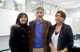Almuerzo con orientadores de colegios en Facultad de Diseño Concepción