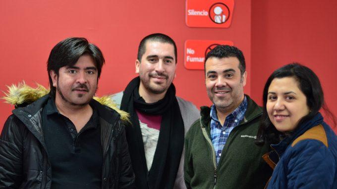 Francisco del Despósito junto a alumnos del Certificado de Introducción a la Innovación