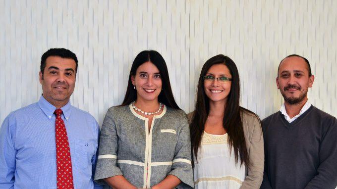 Francisco del Despósito, Alejandra Amenábar, Paulina Conteras y Hernán Díaz