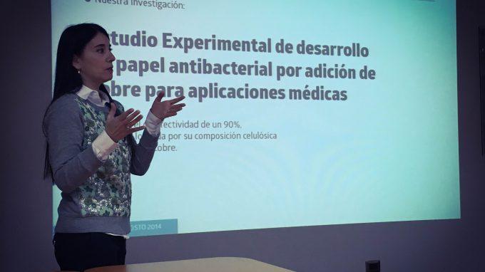 Presentación de proyecto por Alejandra Amenábar