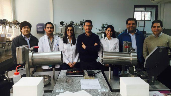 Equipo de trabajo interdisciplinar entre CMPC Celulosa S.A. y Alejandra Amenábar, Paulina Conteras y Víctor Apablaza