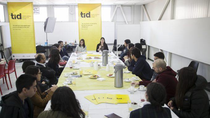Reunión TID con Alejandra Amenábar, Paulina Contreras, Hernán Díaz y Francisco del Despósito con profesores