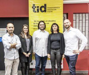 Paulina Conteras, Ian Tidy, Hernán Díaz, Enzo Anziani y Verónica Arcos