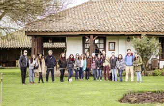 Viaje a Fundo Santa Inés, Concepción, para proyecto con Vinos Pandolfi Price
