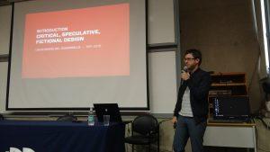 Presentación de Bastien Kerspern sobre Design Fiction