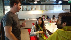 Bastien Kerspern y alumnos en su workshop