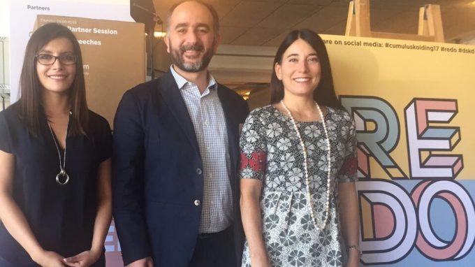 Paulina Contreras, Sergio Majluf y Alejandra Amenábar