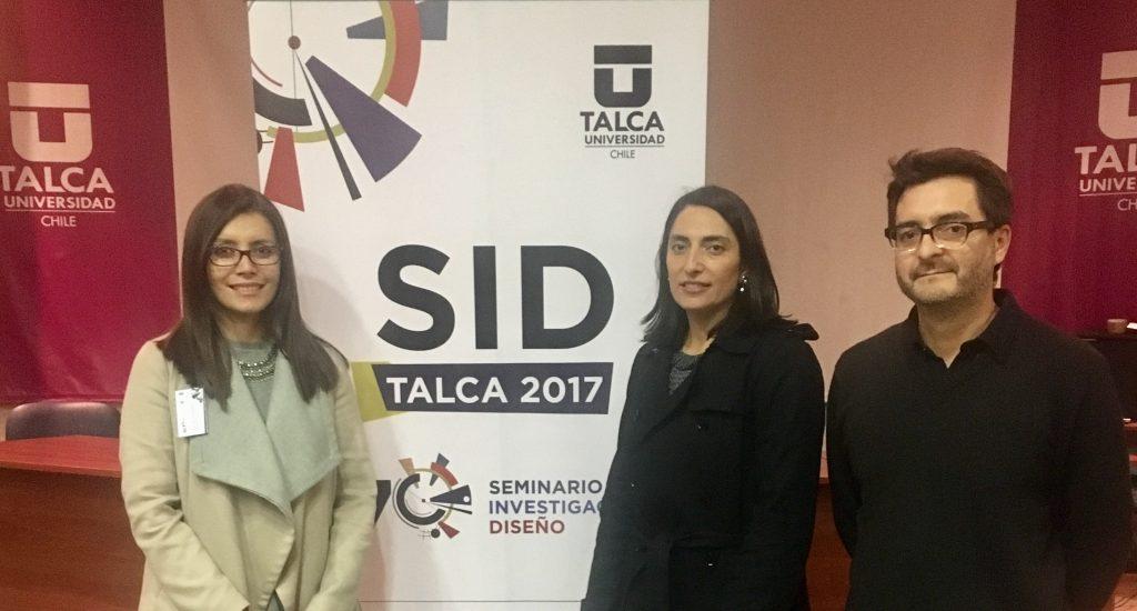 Investigadores Diseño SID 2017: Paulina Contreras, Catalina Cortés y Francisco Zamorano