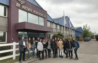Visita a la empresa DVP (De Vicente Plásticos S.A.)