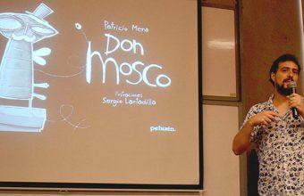 Ilustrador y escritor infantil expuso sobre las perspectivas de su oficio