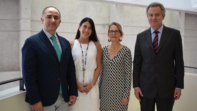 Sergio Majluf, Alejandra Amenábar, Lotte Stenlev y Federico Valdés