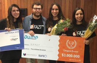 Alumnos UDD obtuvieron tercer lugar en concurso Jump Chile