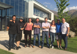 Joseph Saavedra, Francisco Fuentes, Alejandro Pantoja, Sergio Majluf y colaboradores de Plaza i