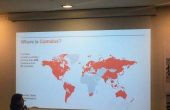 Diseño UDD estuvo presente en la Conferencia Cumulus en París