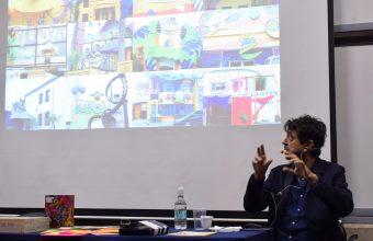 Galardonado diseñador gráfico brasilero expuso en la UDD