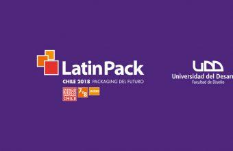 Alumnos de Diseño exponen en LatinPack Chile 2018