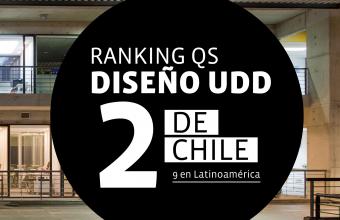 Diseño UDD es N°2 de Chile en el QS World University Rankings by Subject