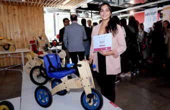 Florencia Briones de Diseño UDD fue premiada por Roda Chile y Beneciclo