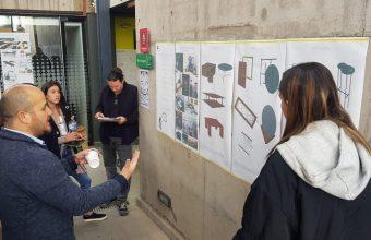 Alumnos trabajan en proyecto colaborativo con empresa de mobiliario Medular
