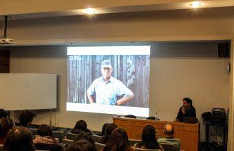 Inspiradora presentación de estudio GrupoTalca en charla con alumnos de diseño