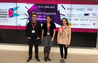 Investigadores de Diseño UDD expusieron en Conferencia Academy for Design Innovation Management, Research Perspectives in the Era of Transformations