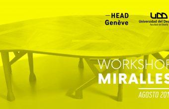 Estudiantes de HEAD Genève y de Diseño UDD participan del Workshop Miralles 2019