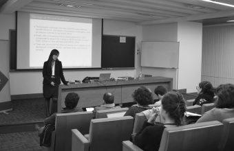 Investigadora de la Universidad de Gotemburgo expuso en MADIS