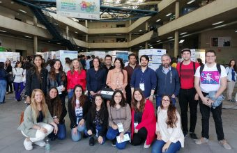 Diseño participó con 13 estudiantes en la 5ª versión de la Feria de Ciencias e Innovación en la sede Santiago