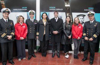 """Diseño y la Armada de Chile inauguraron sala expositiva de la Escuela de Grumetes """"Alejandro Navarrete Cisterna"""""""