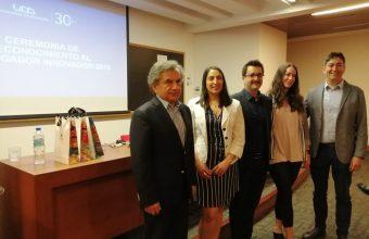 Docentes de Diseño reciben el premio Investigador Innovador UDD