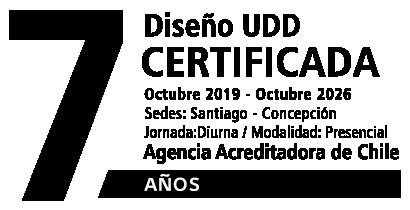 Carrera certificada por la Agencia Acreditadora de Chile